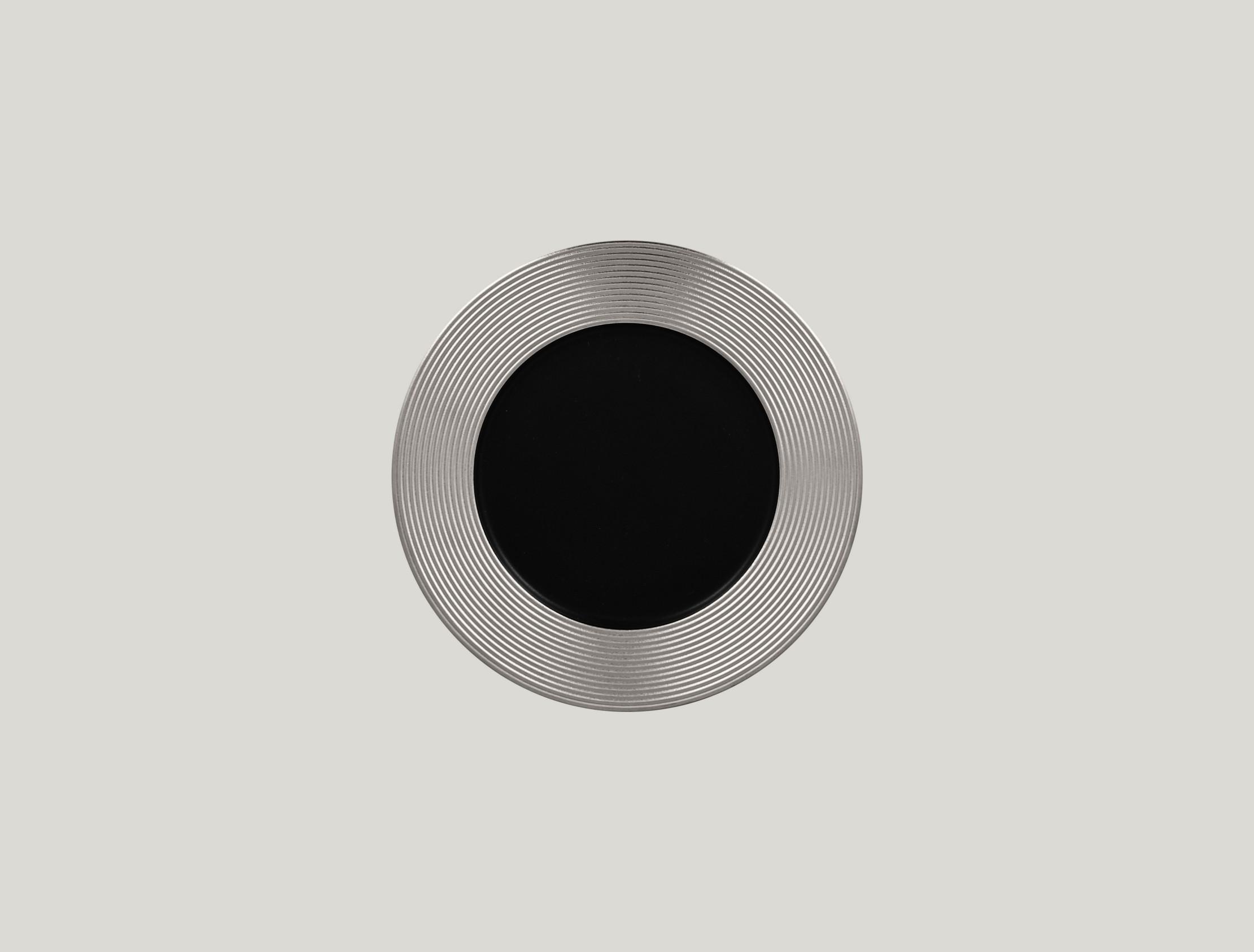 Mělký talíř - silver ANTIC