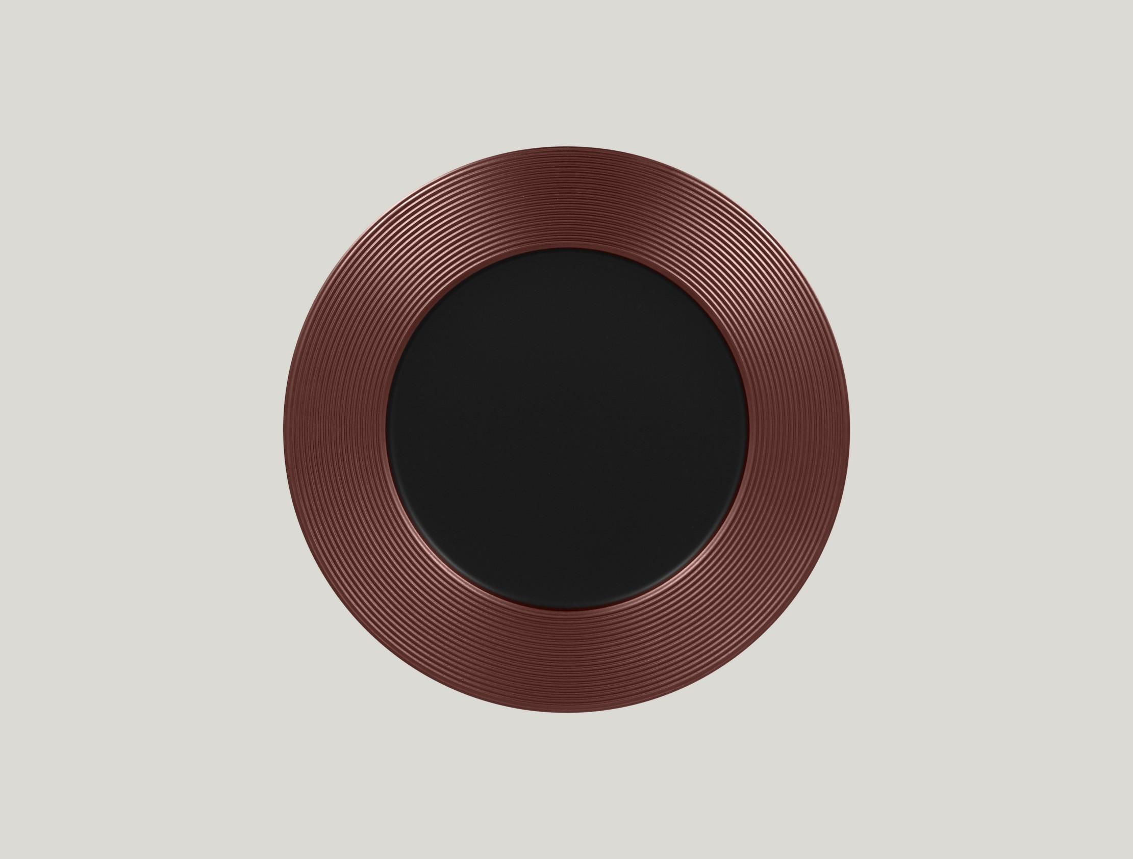 Mělký talíř - bronze ANTIC