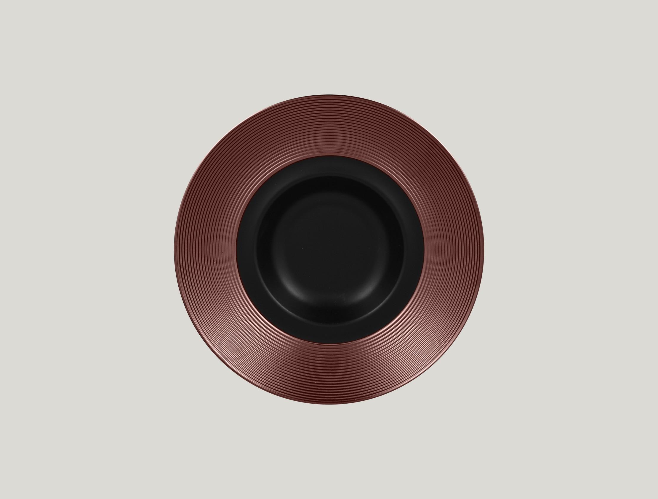 Gourmet hluboký talíř - bronze ANTIC