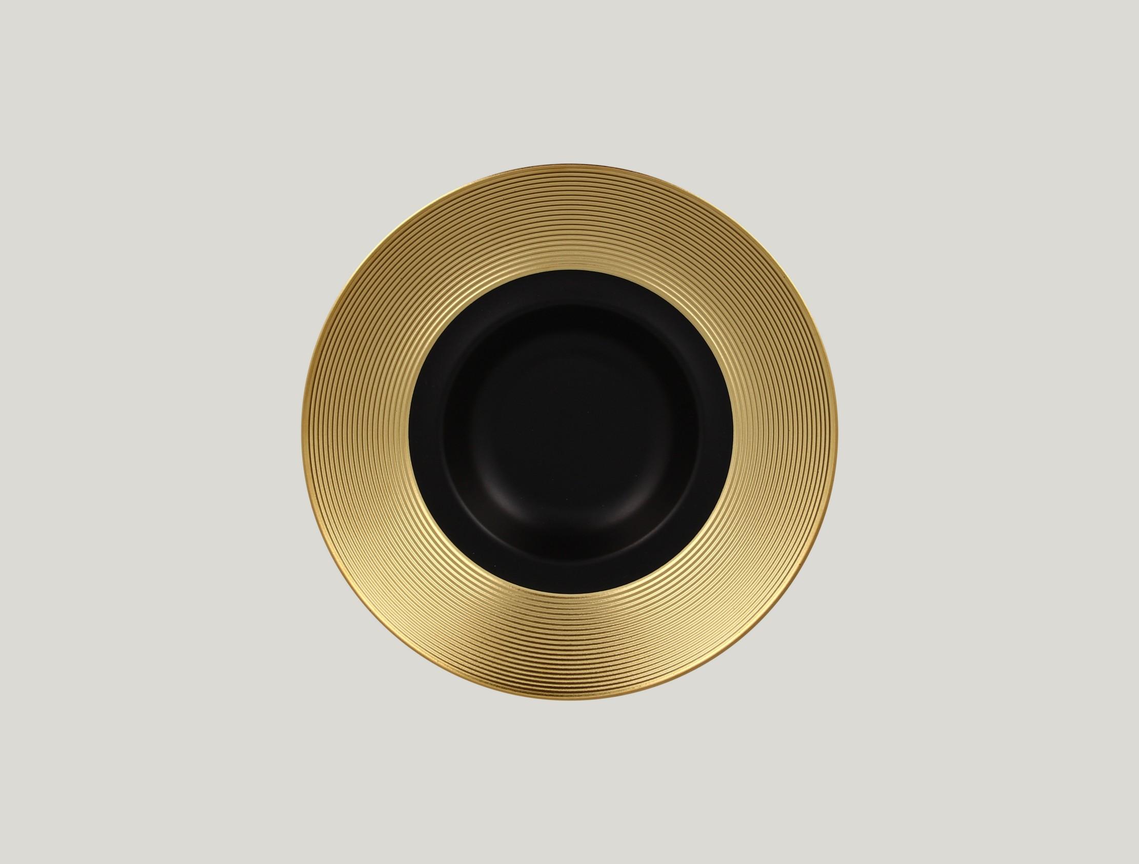 Gourmet hluboký talíř - gold ANTIC