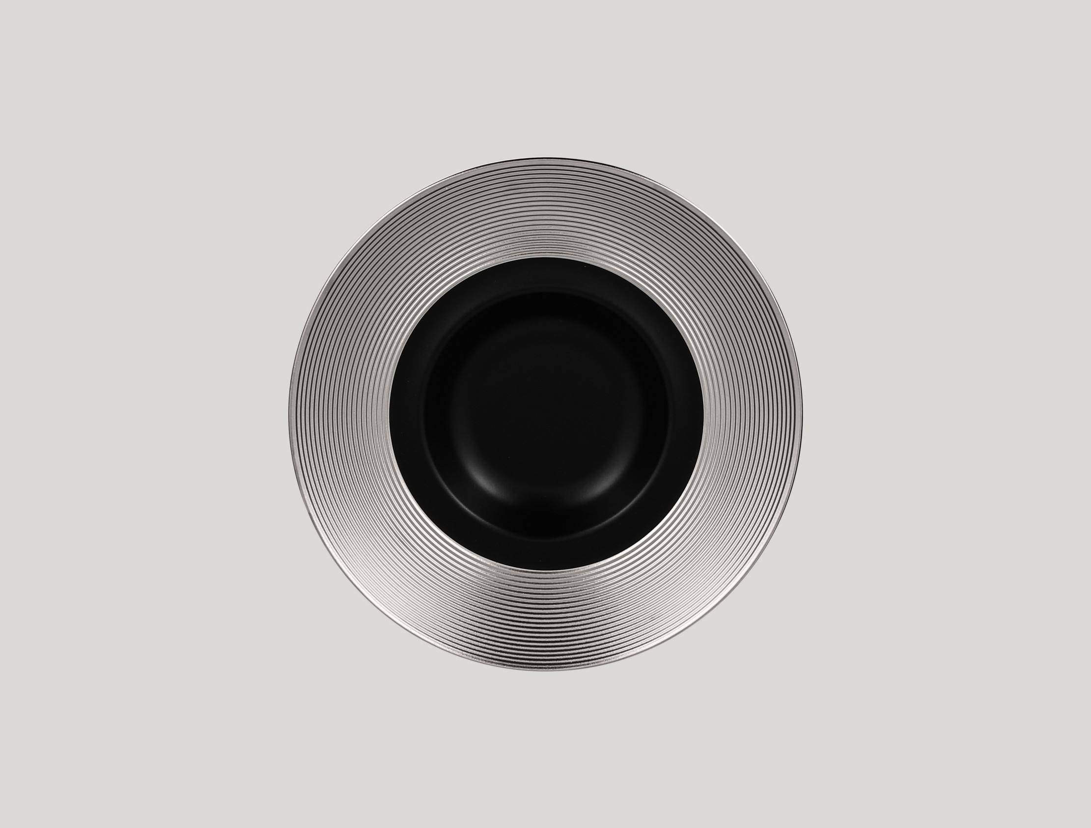 Gourmet hluboký talíř - silver ANTIC