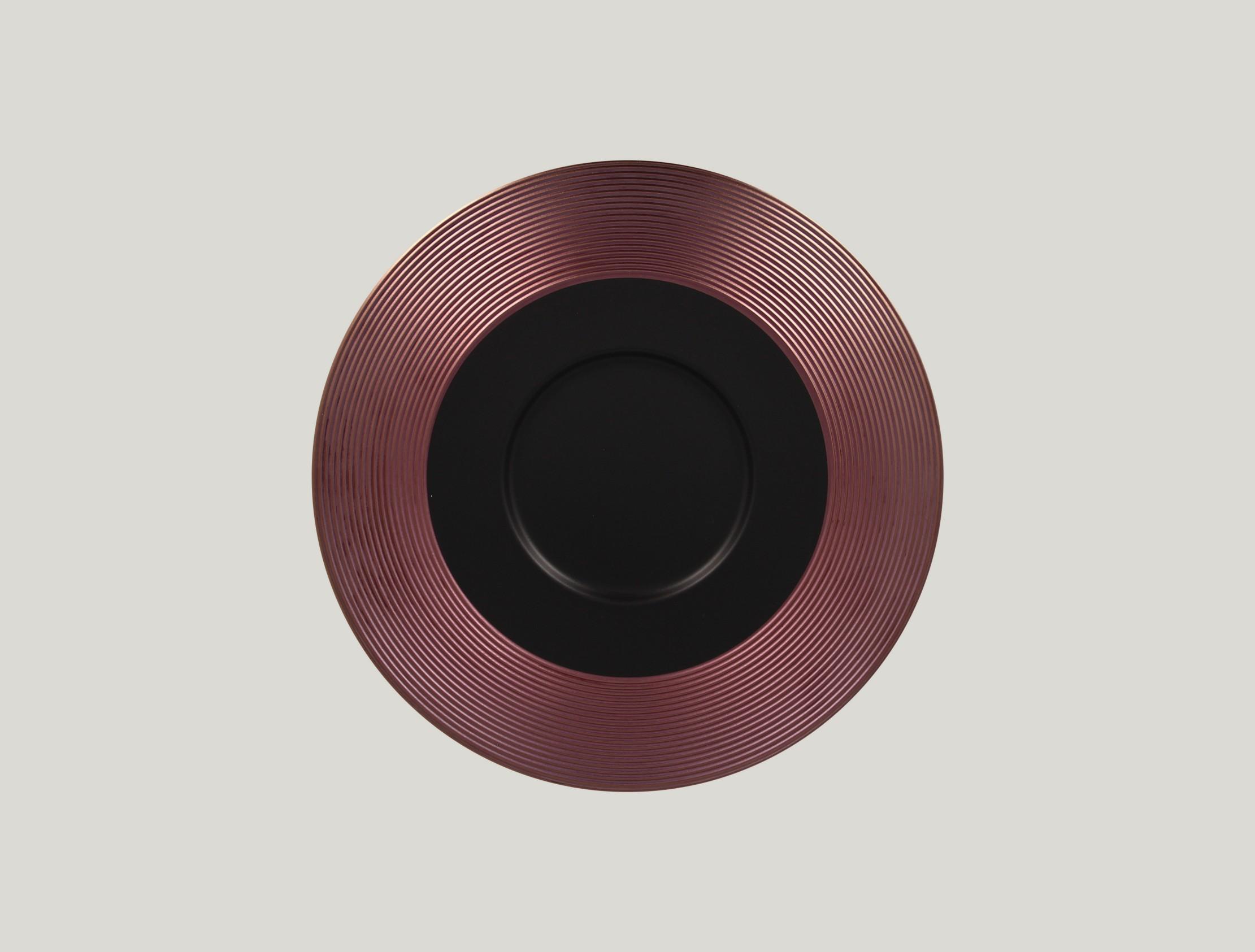 Gourmet Mělký talíř - bronze ANTIC