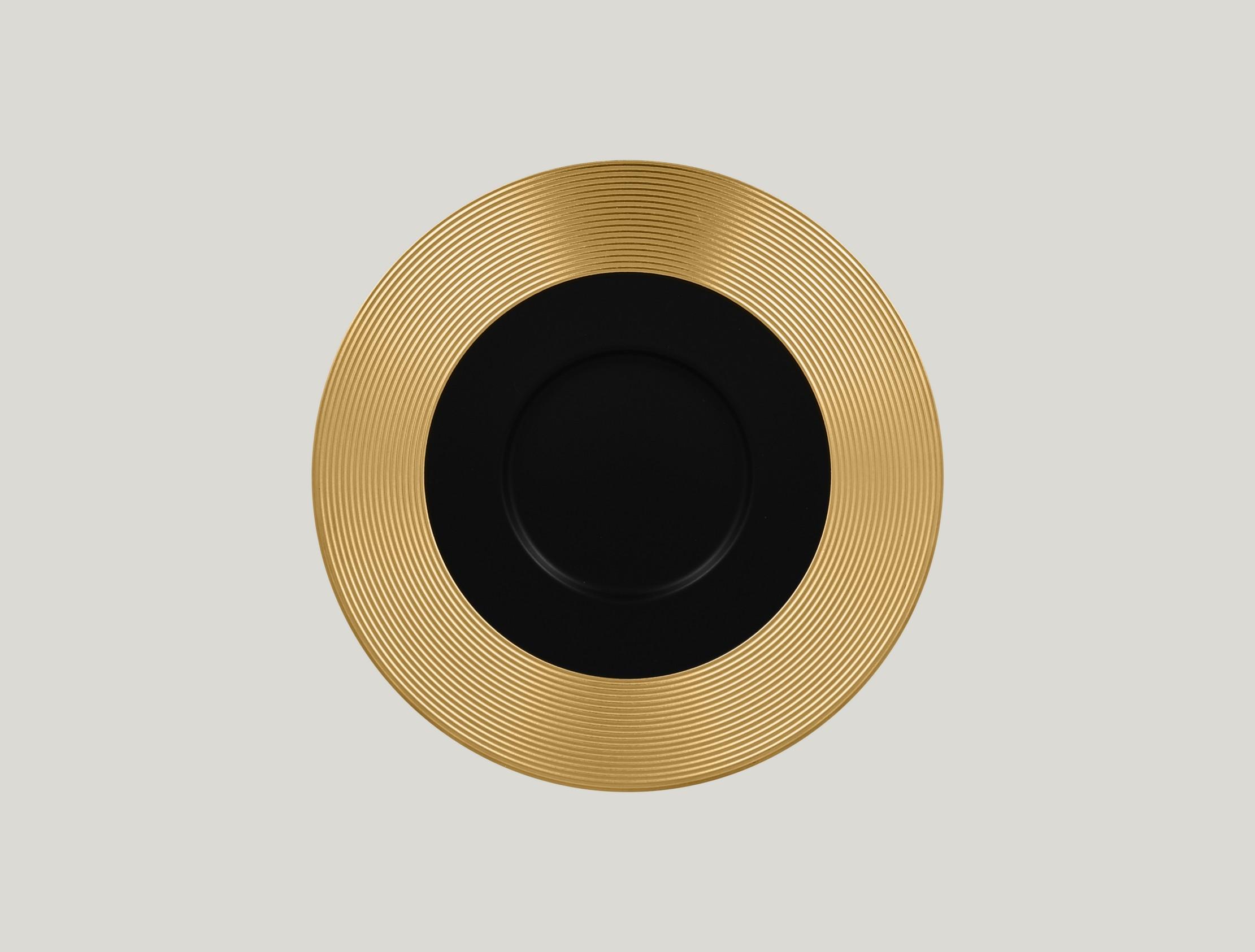 Gourmet Mělký talíř - gold ANTIC