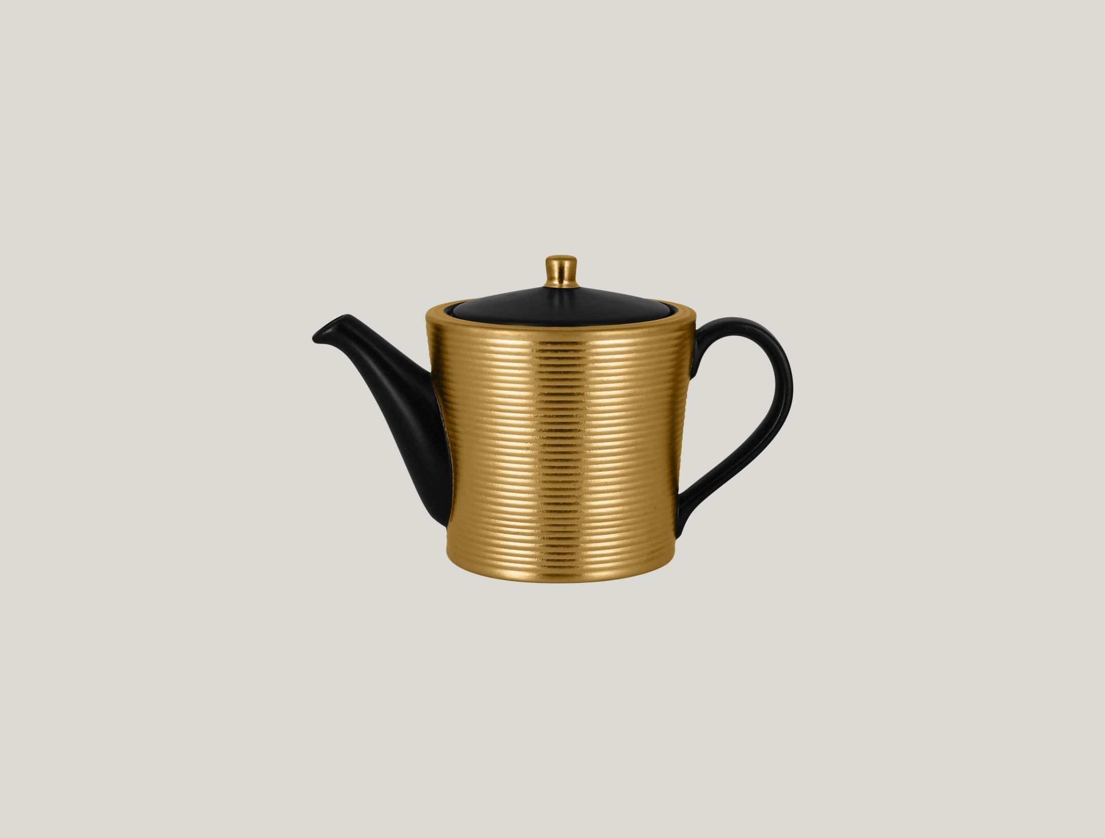 Konvice na čaj a víčko- gold ANTIC