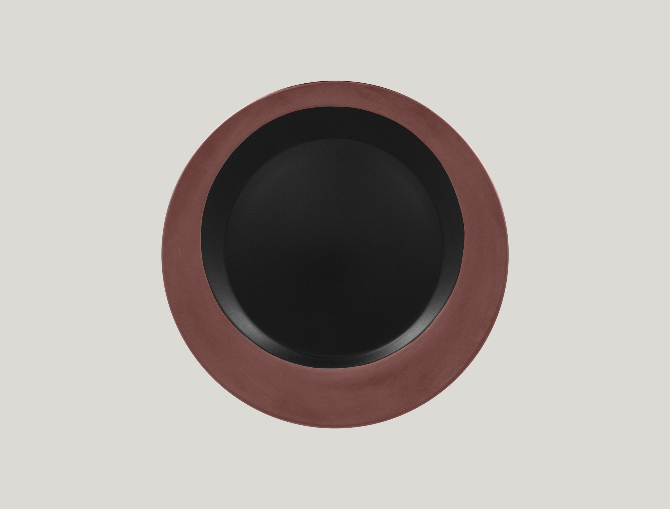 Kulatý talíř - bronze ANTIC