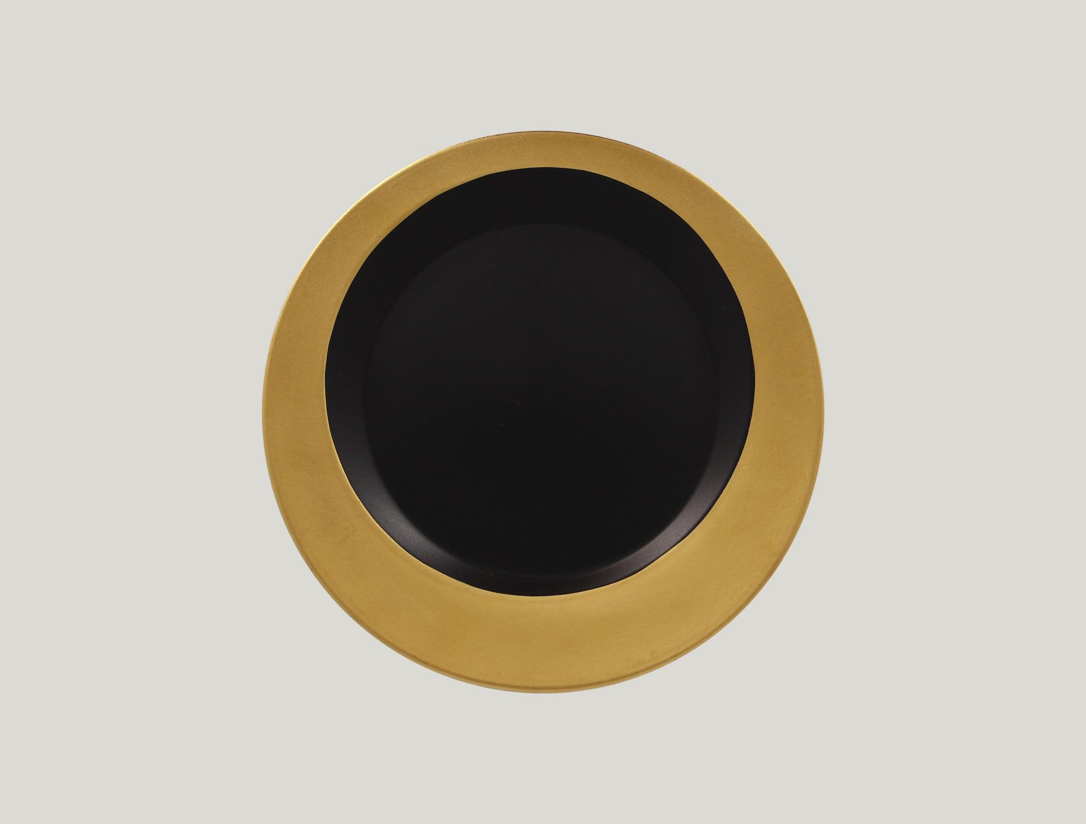 Kulatý talíř - gold ANTIC