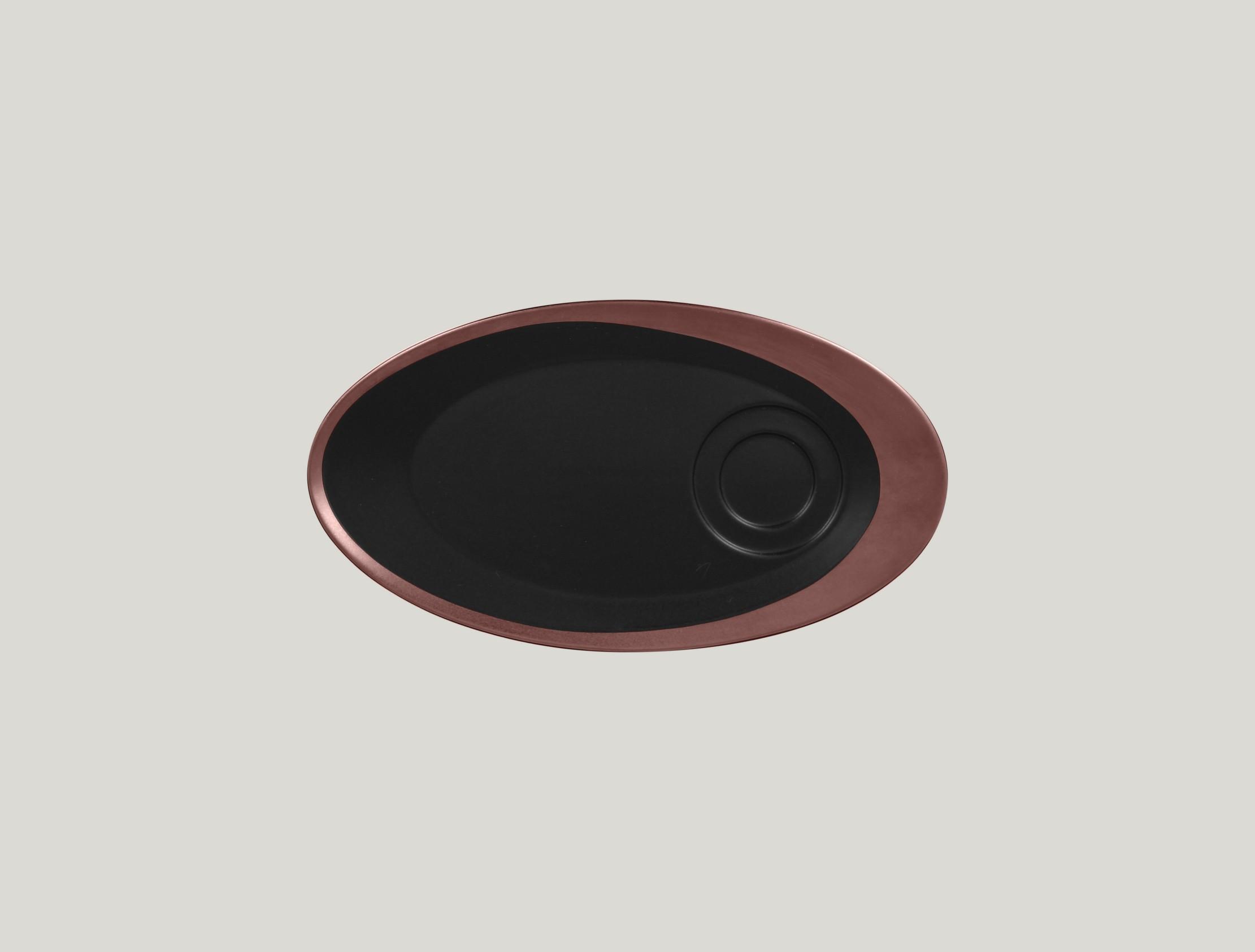 Ovalnáný podšálek pro GICU23/GICU09 - bronze ANTIC