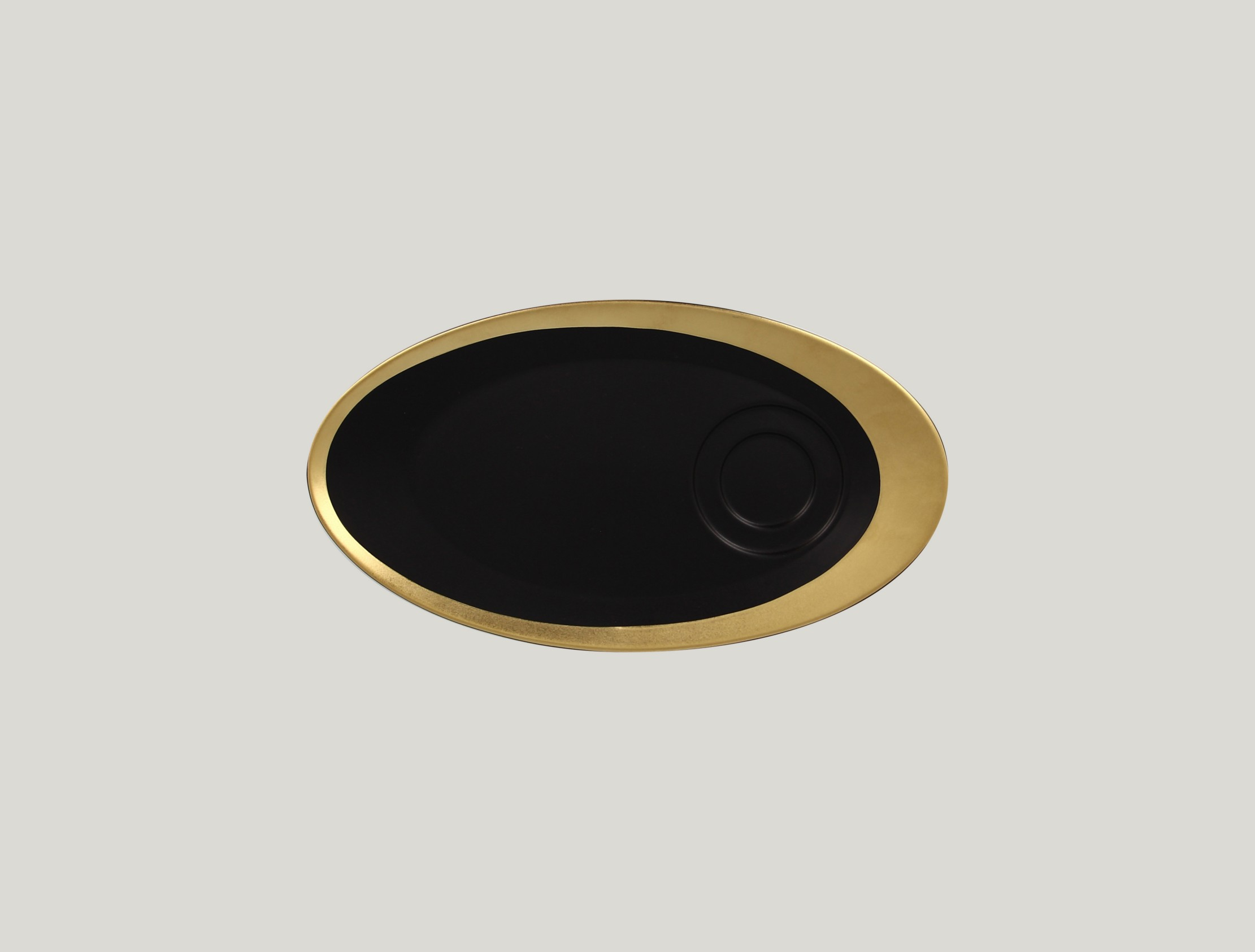 Ovalnáný podšálek pro GICU23/GICU09 - gold ANTIC