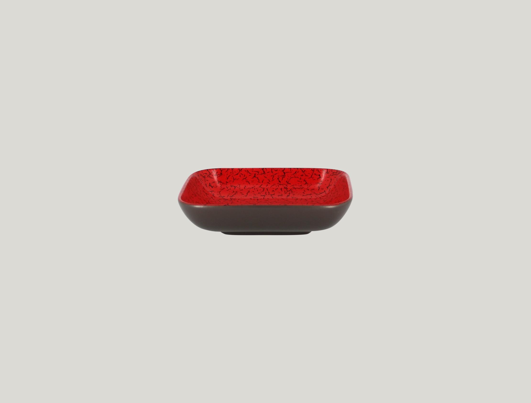 Miska čtvercová 32,5 cl - červená