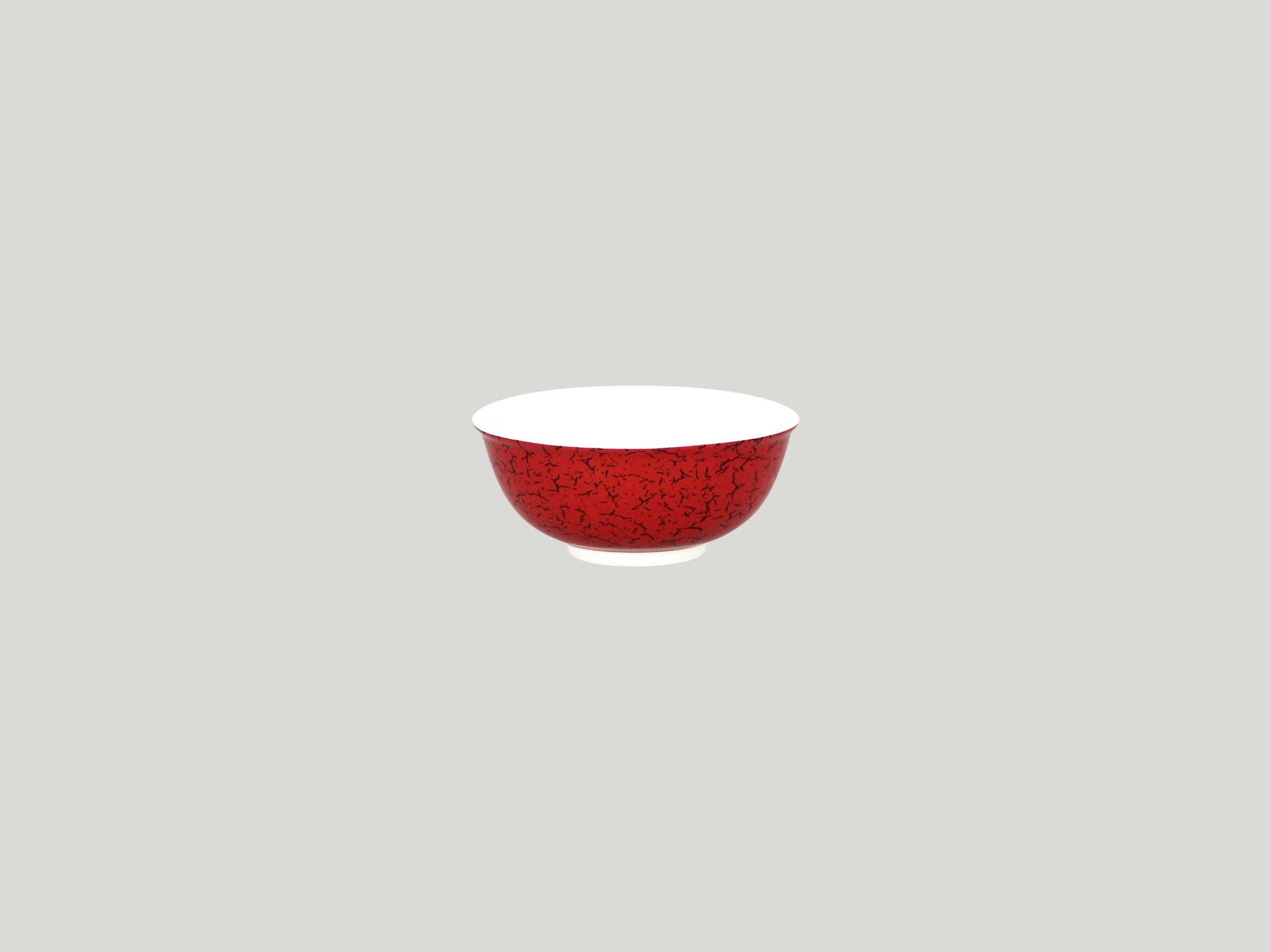 Miska nestohovatelná 27 cl - červená
