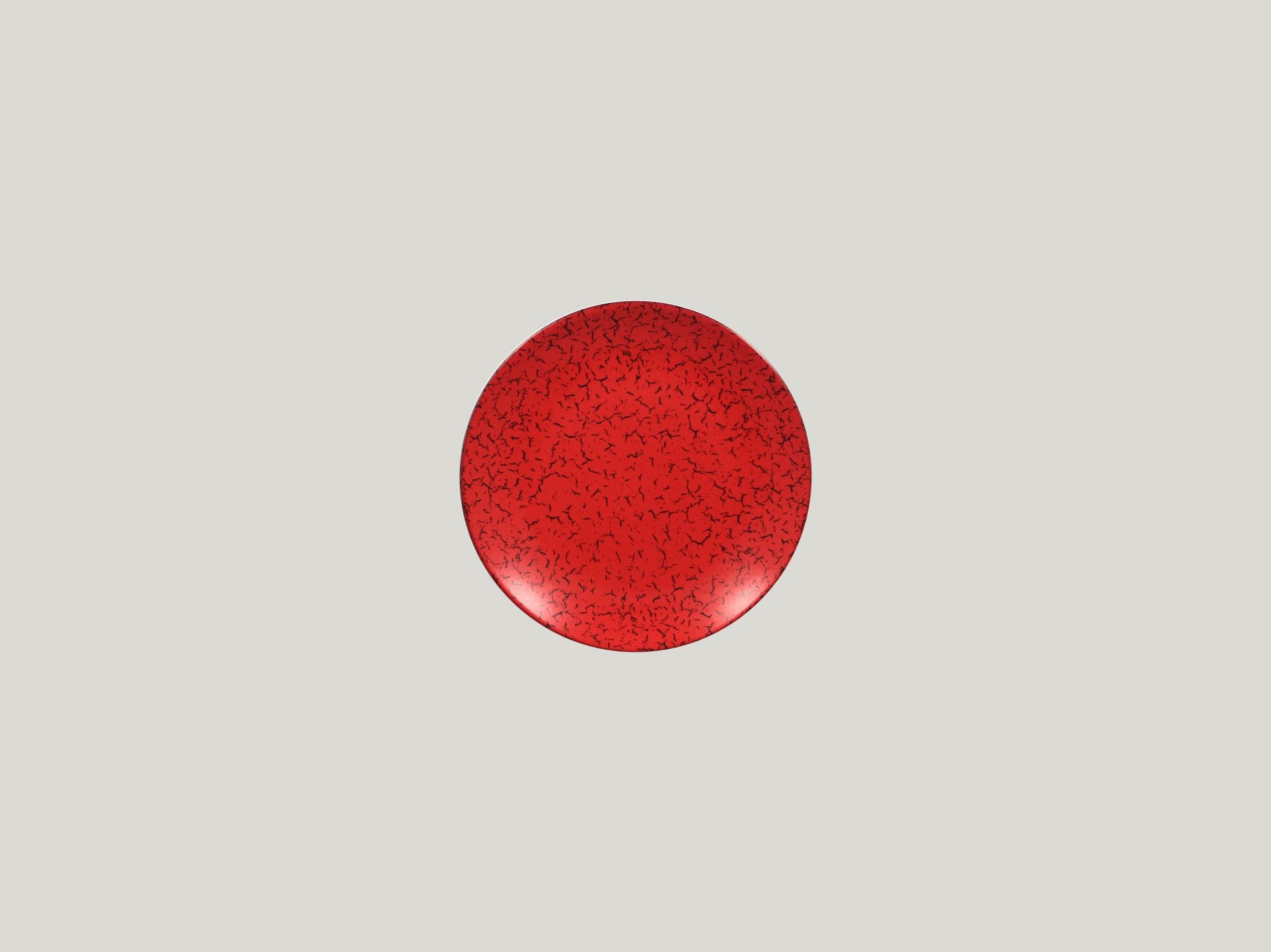 Talíř mělký dezertní 15 cm - červená