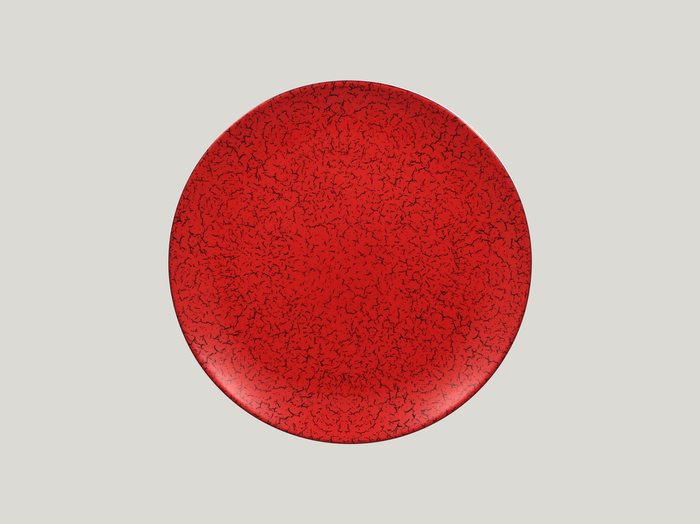 Talíř mělký 28 cm - červená