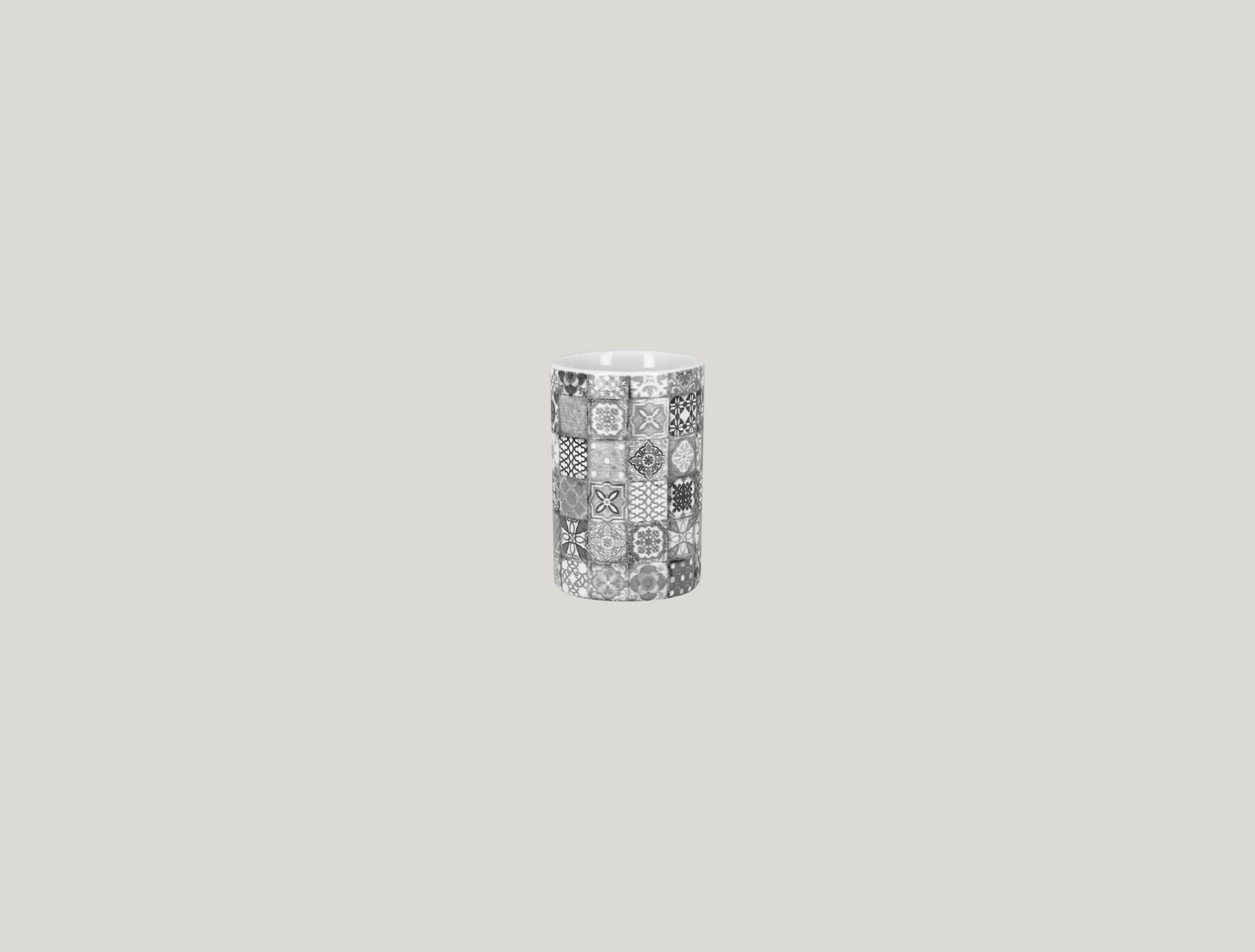 Pohár 9 cl - šedá