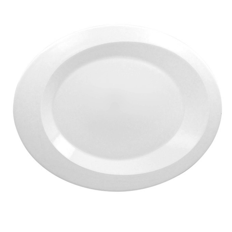 Giro talíř mělký oválný 38,7 x 31 cm