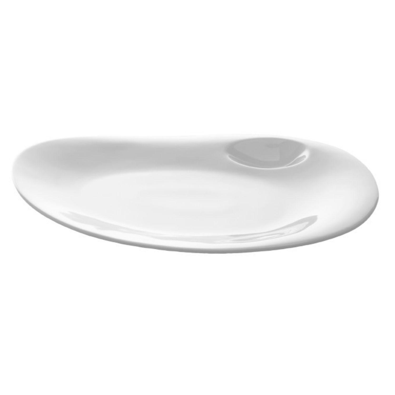 Nabur talíř mělký, oválný 27 x 22,5 cm Coupe