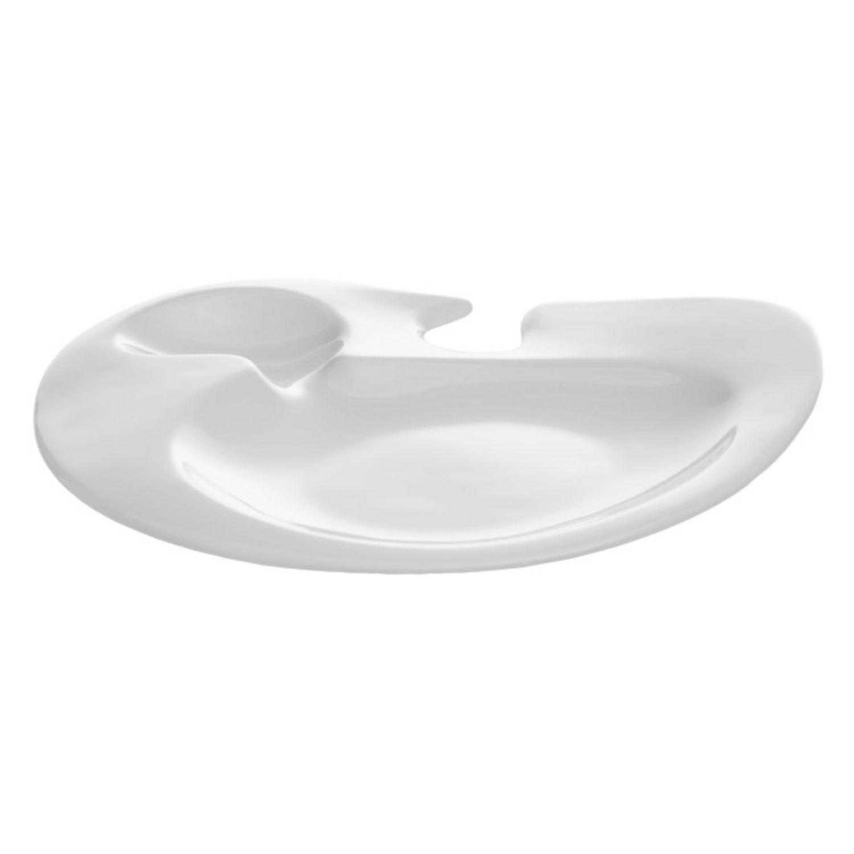 Nabur talíř oválný 22 x 15,5 cm - banketový