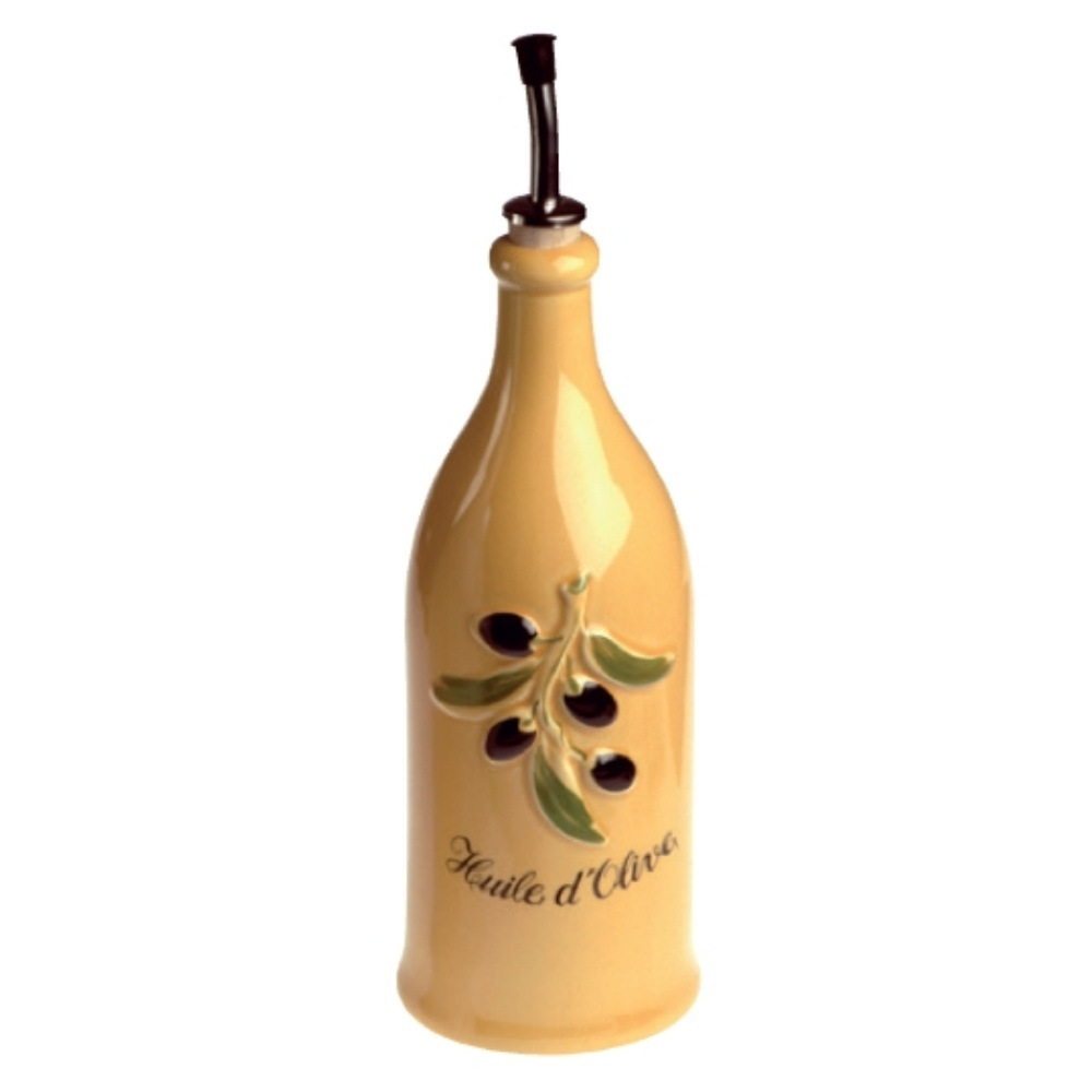 Dochucovací nádobka olive 250 ml, žlutá