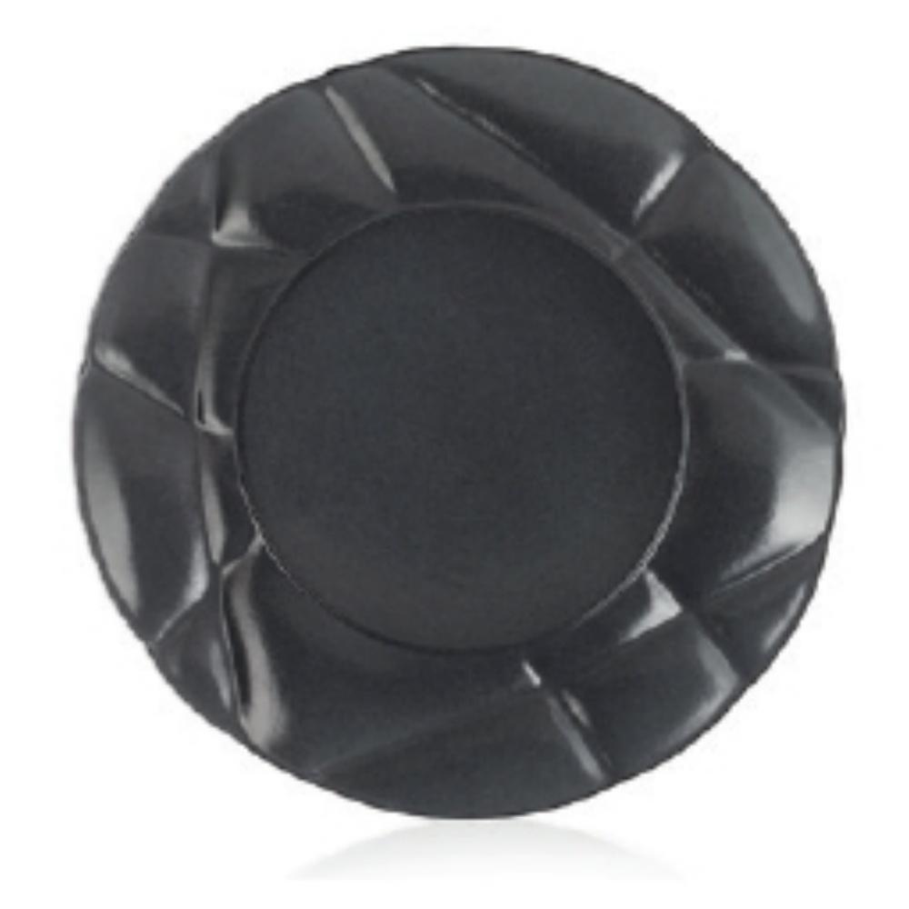 Succession talíř 21 cm černý