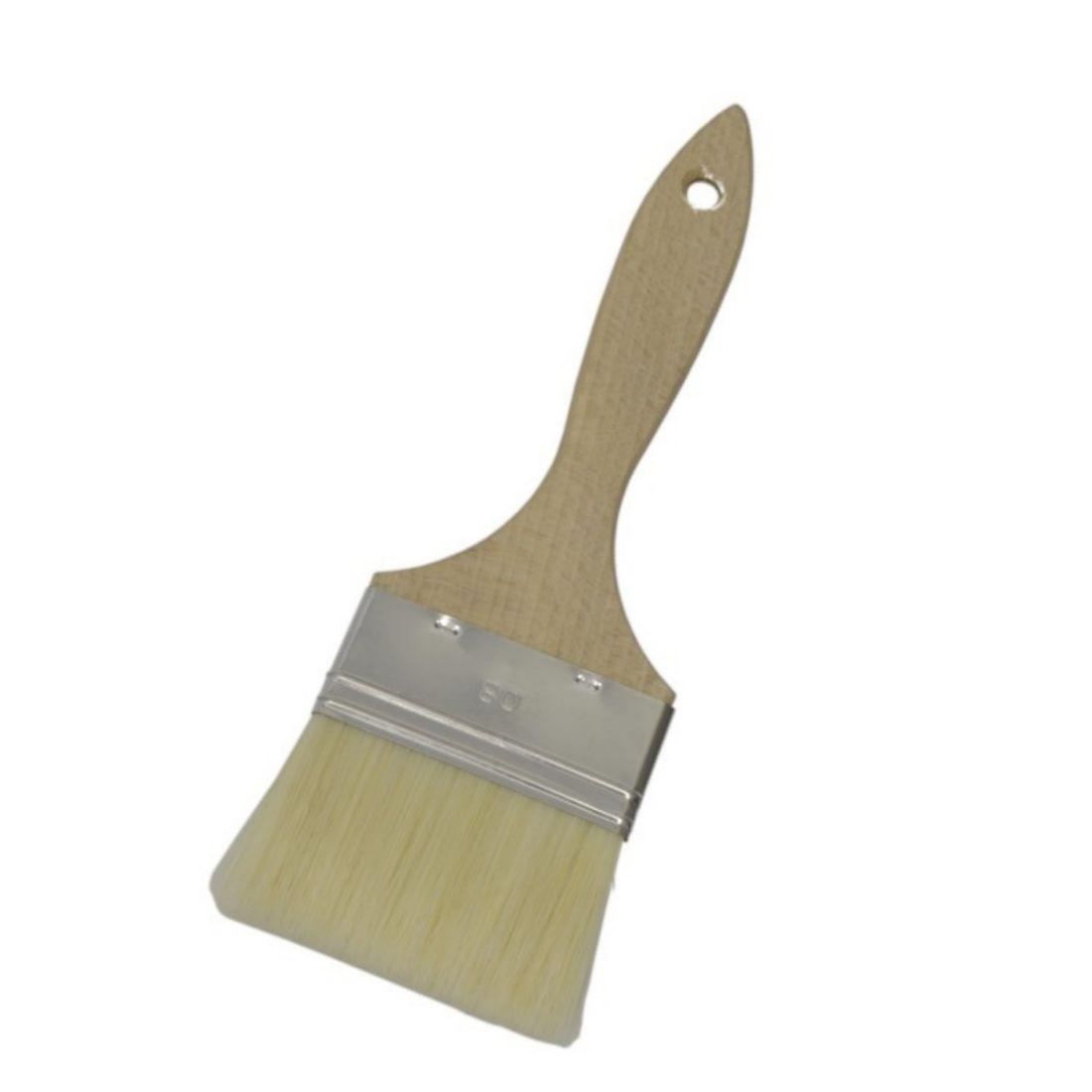 Štětec s dřevěnou rukojetí š. 80 mm
