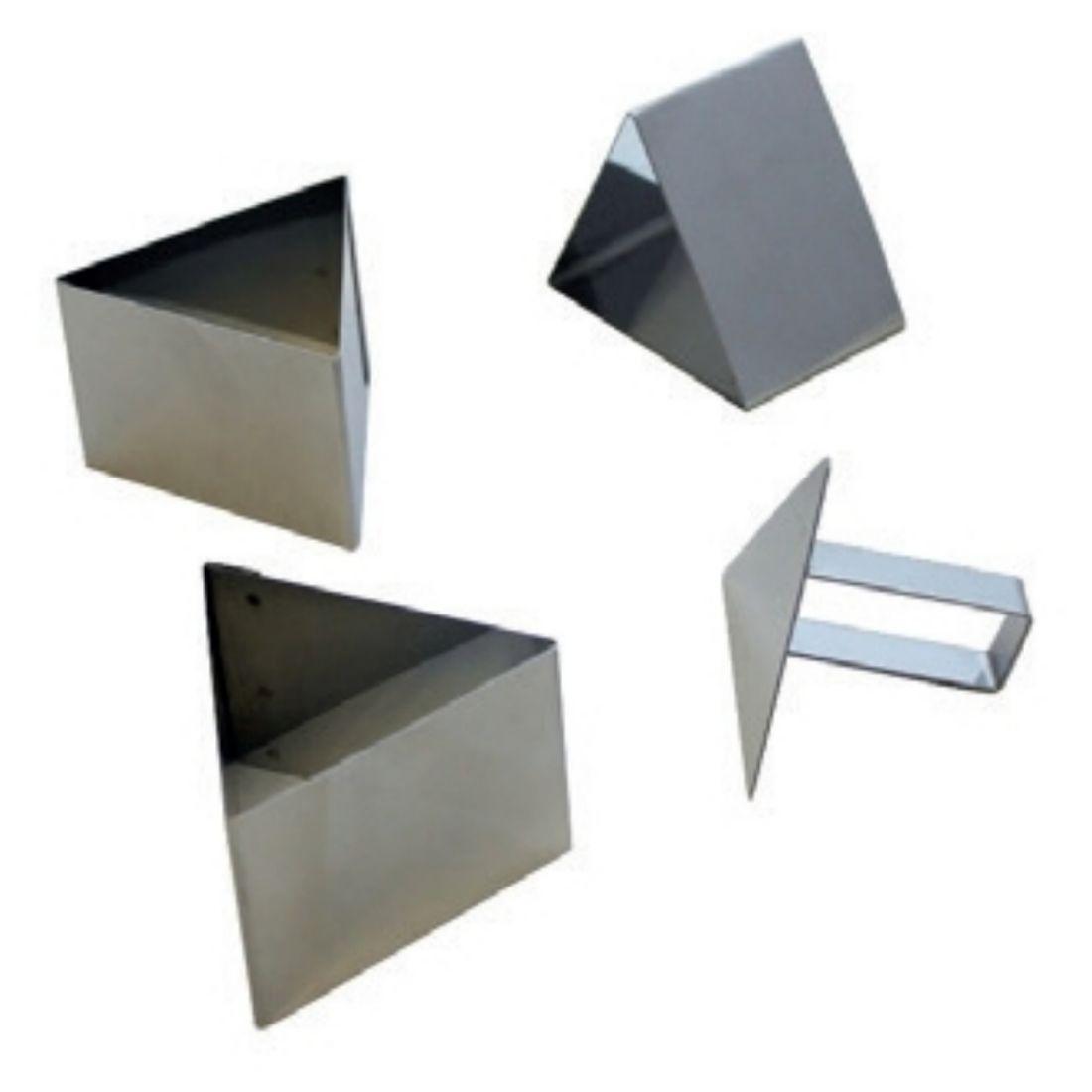 Formy trojúhelníkové + tlačítko š. 5,5 cm