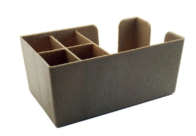 Bar Caddy dřevěný, roz. 25 x 25 x 10,5 cm