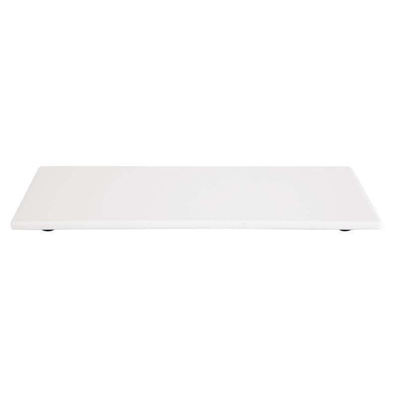 Deska melaminová bílá 530x162