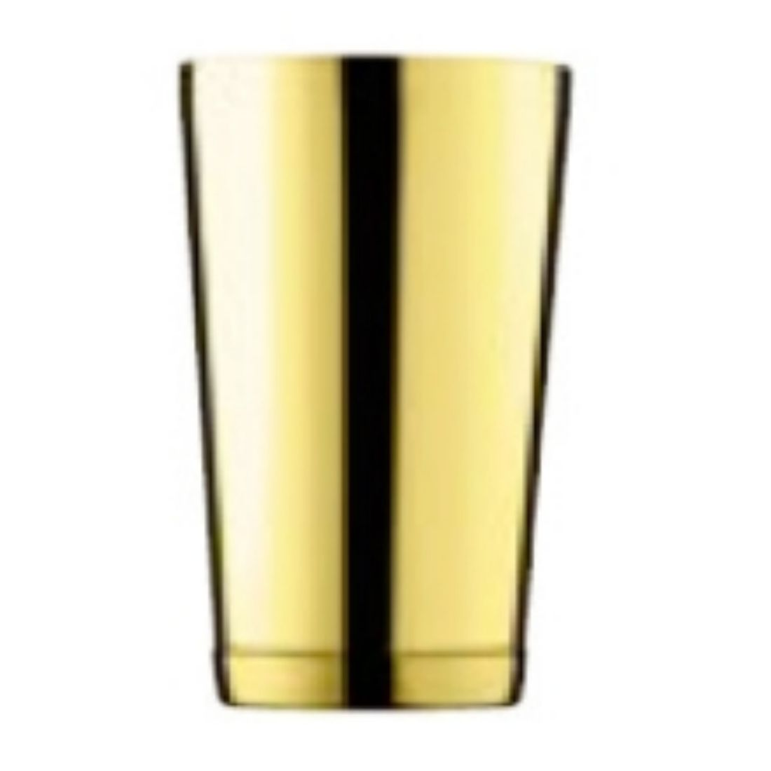 Shaker Ginza Tin Tin 0,57 l zlatý