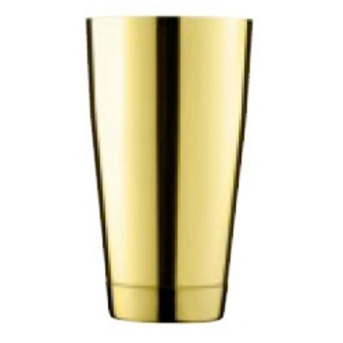 Shaker Ginza Tin Tin 0,65 l zlatý