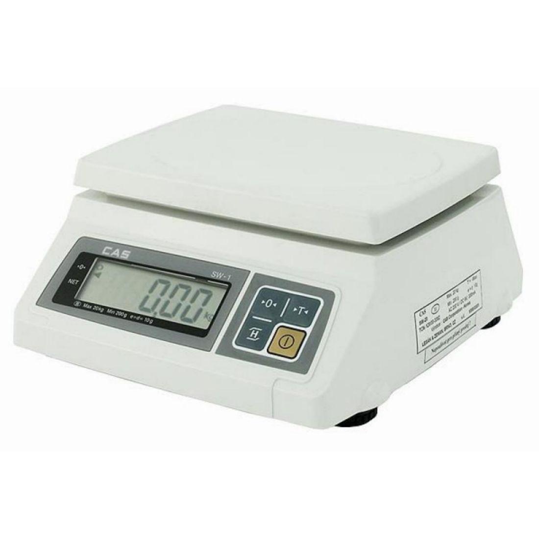 Kuchyňská váha stolní voděodolná 10/20 kg
