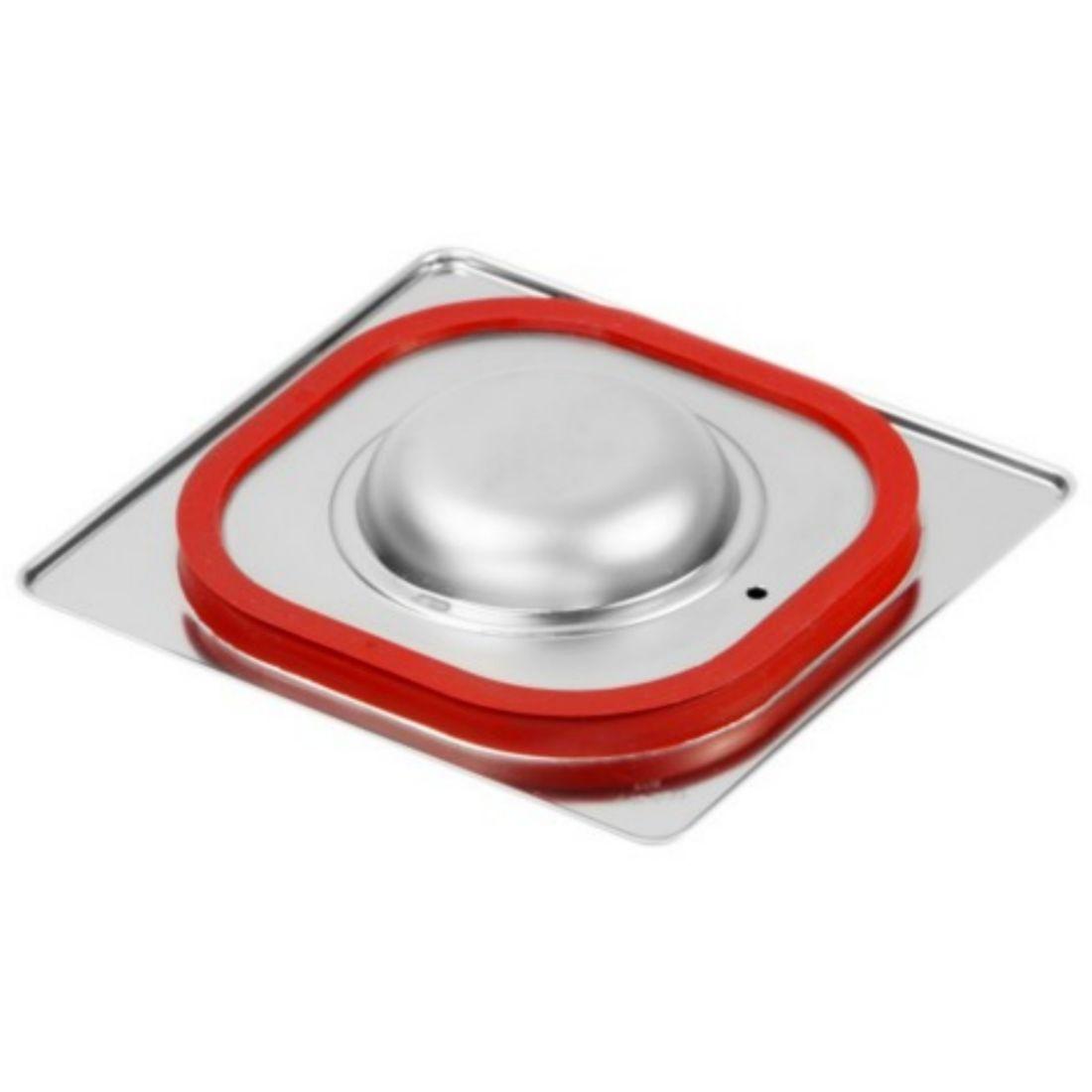 Víko GN 1/6 standardní se silikonovým těsněním