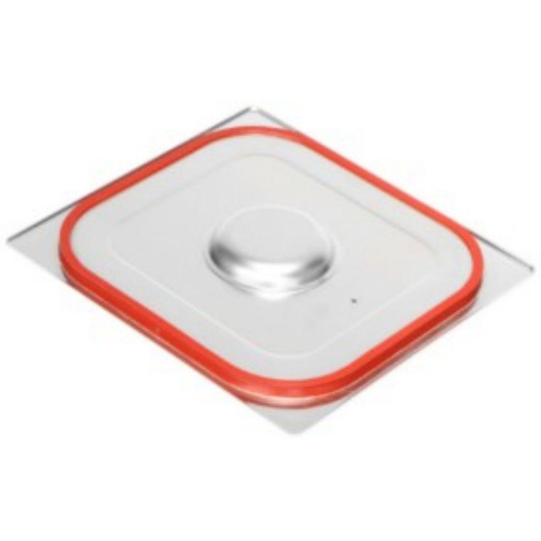 Víko se silikonovým těsněním na gastronádoby na Standard bez úchytů GN 2/3